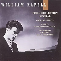 BMG Classics Kapell Edition : Kapell - Frick Collection Recital