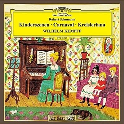 Deutsche Grammophon Best 1200 : Kempff - Schumann Kinderszenen ...